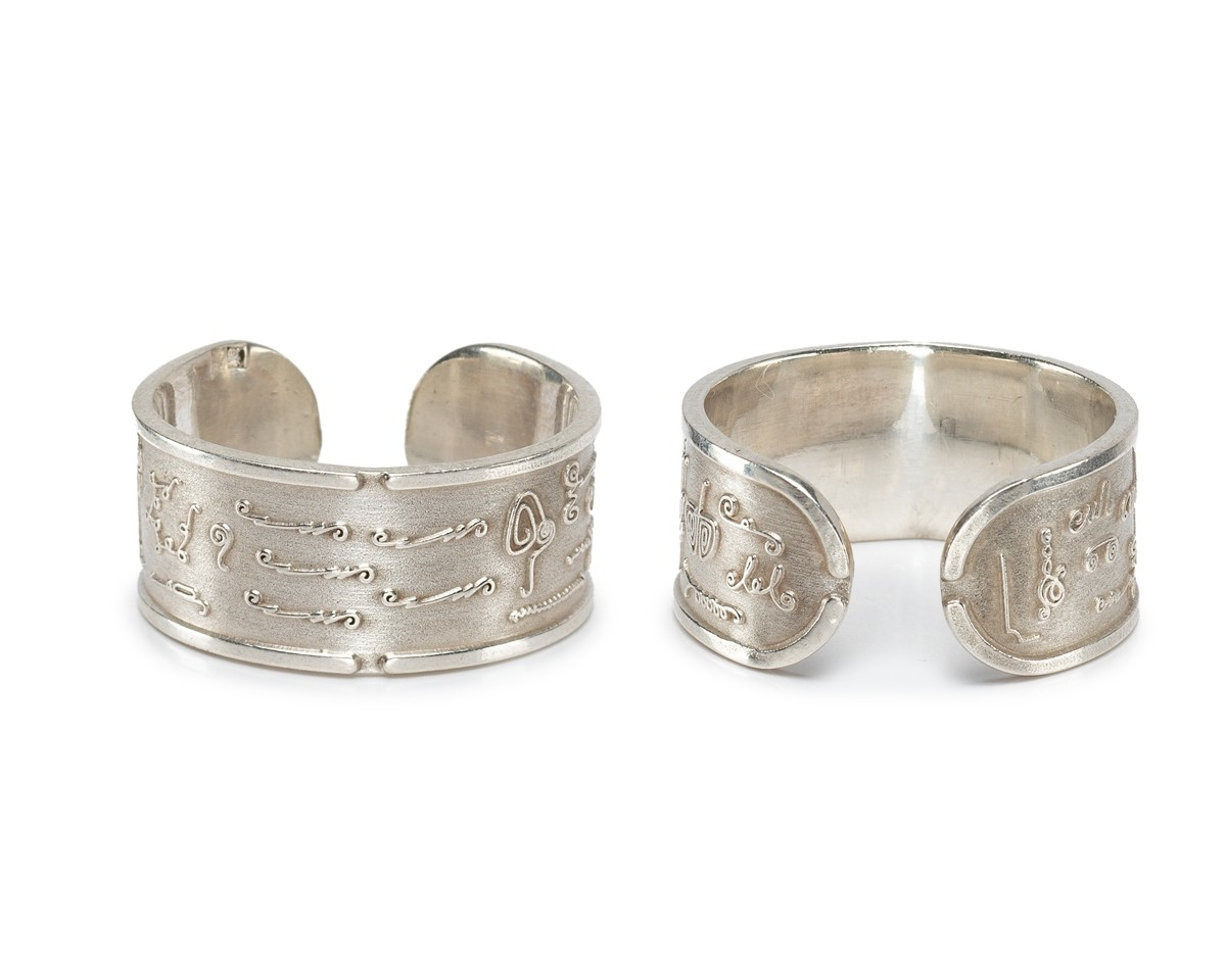 New BioSignatures Ring in Sterling Silver (S) 2019 Version