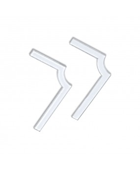 "90 Degree ""L"" Sticker - 5 Pairs (Windows and Mirrors)"