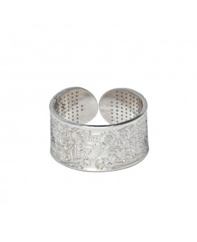 BioSignatures Ring in Sterling Silver (M)