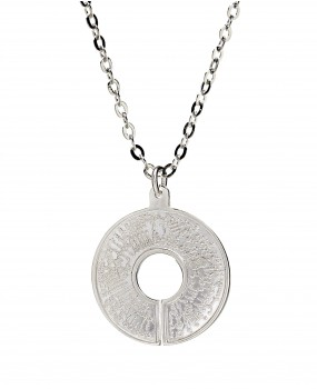 BioSignatures Pendant in Sterling Silver