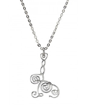 BioSignature Subtle Energy Balancing Pendant in Sterling Silver